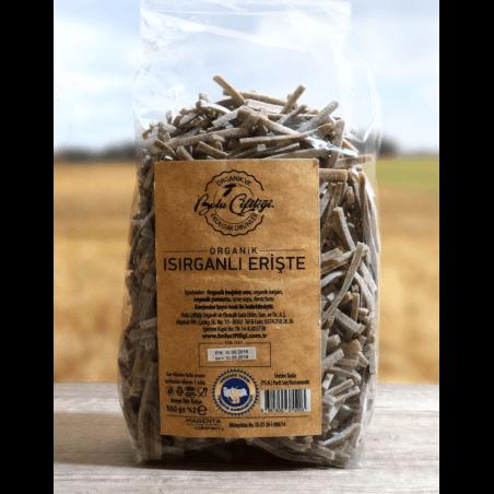 Bolu Çiftliği Organik Isırganlı Erişte 500 Gr