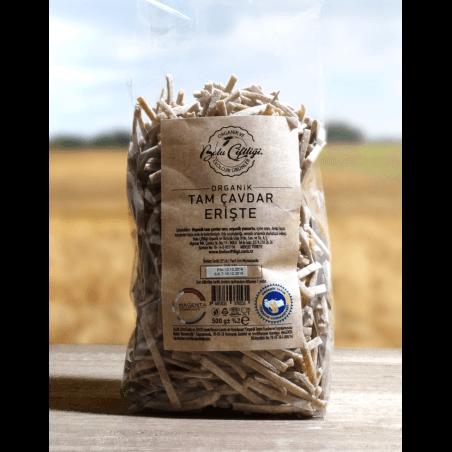 Bolu Farm Organic Mixed Whole Rye Noodle 500 Gr