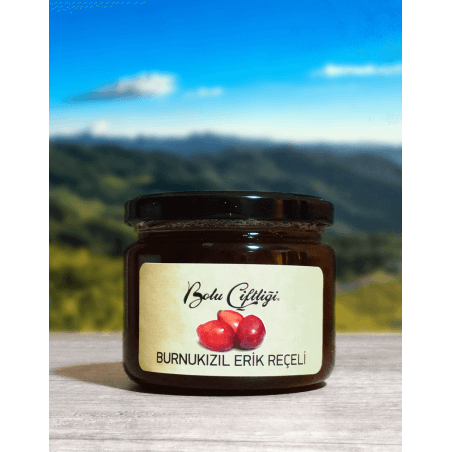 Bolu Farm Homemade Natural Red Apple Plum Jam