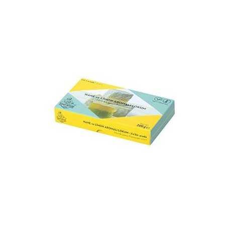 Haci Bekir Turkish Delight Mint and Lemon Flavoured 200 Gr