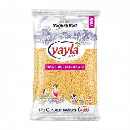Yayla Coarse Rice Bulgur 1 kg