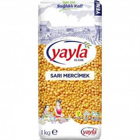 Yayla Yellow Lentils 1 Kg