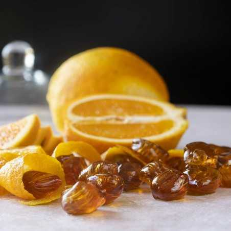 Haci Bekir Hard Candy Orange Flavoured 300 Gr