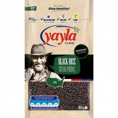 Yayla Gurme Siyah Pirinç 500 G
