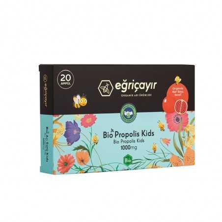 Eğriçayır Organic Propolis Ampoule Kids 1000Mg 20 Bulbs
