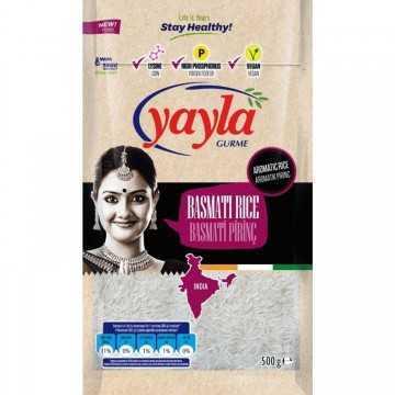 Yayla Gurme Basmati Rice 500 G