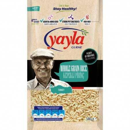 Yayla Gurme Wholemeal Rice 500 G