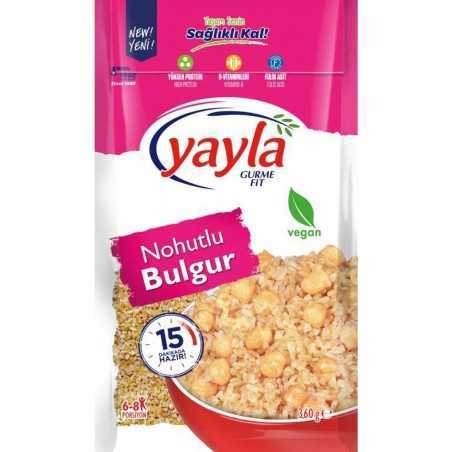 Yayla Gurme Bulgur 360 G With Chickpeas