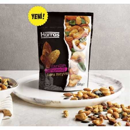 Harras Mixed Nuts and Dried Fruit 150 gr