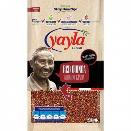 Yayla Gurme Red Quinoa 500 gr