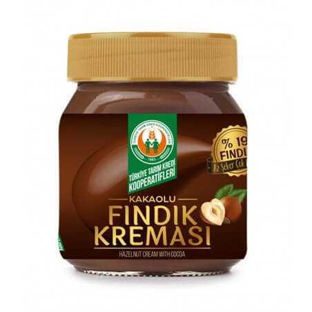 Agriculture Credit Cooperative Hazelnut Cream with Cocoa 400gr