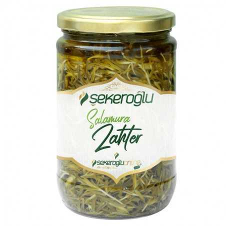 Şekeroğlu Olive Oil Pickled Zahter 500gr