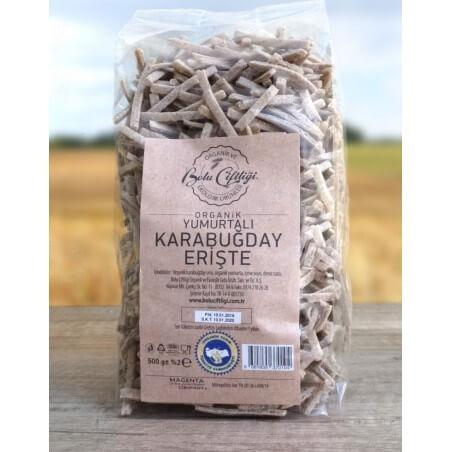 Bolu Farm Organic Egg Buckwheat Rye Noodle 500 Gr