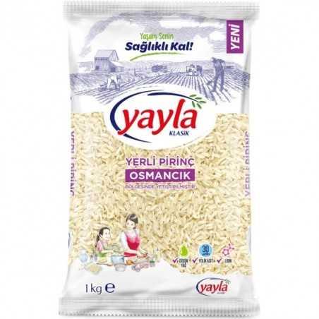 Yayla Osmancık Rice 1 kg