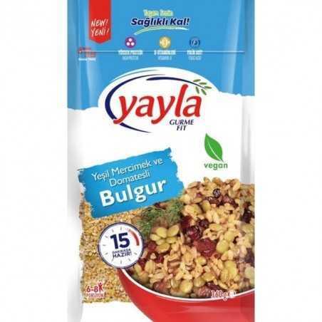 Yayla Gurme Fit Green Lentils & Bulgur With Tomato 360 gr