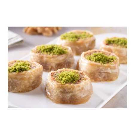 Turkish Food Gurme - Cevizli Saray Sarması