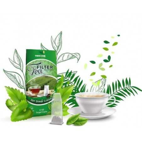 Tea Filter Çay Demleme Filtresi / Poşeti