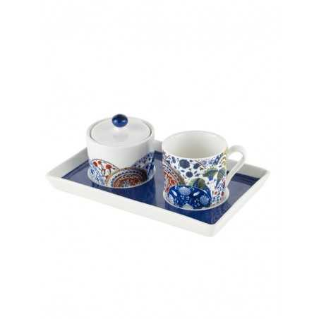 Iznik Plates Turkish Coffee Set