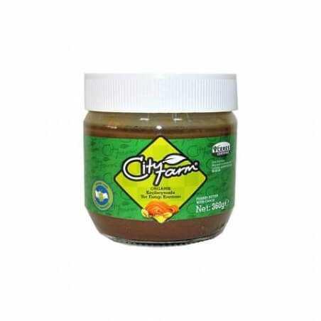 City Farm Organic Carob Peanut Cream 360 gr